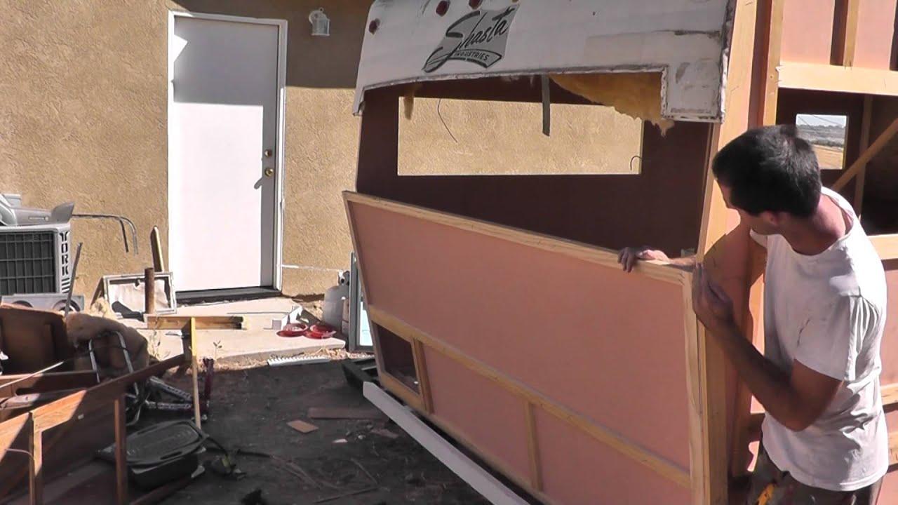 Vintage Shasta Camper Trailer Restoration Part 7 Rv