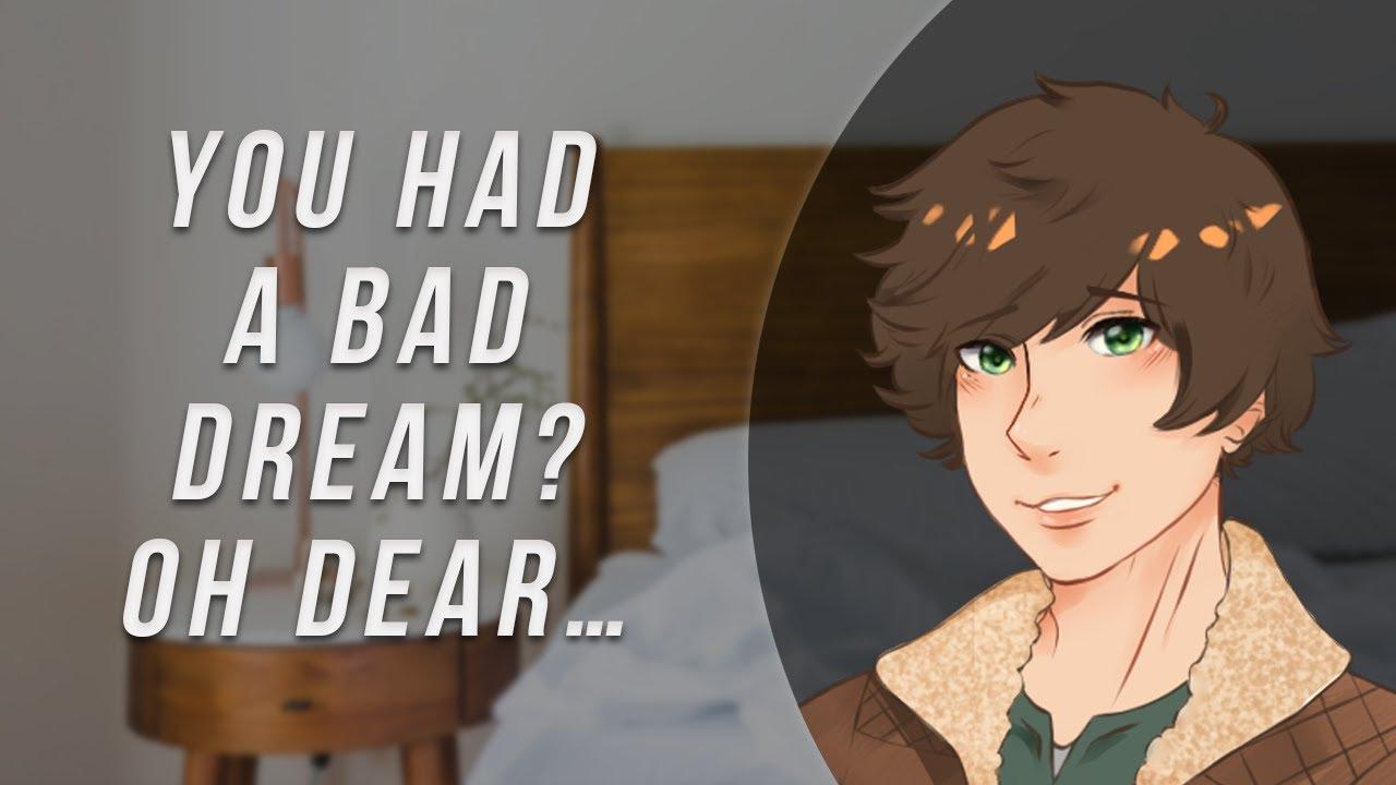 Boyfriend Experience ASMR Roleplay | Nightmare Comfort [Cute Turns Spicy]