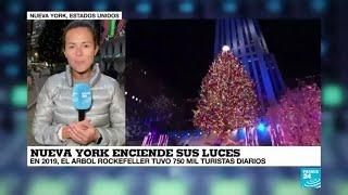 La vuelta al mundo de France 24: luces de Navidad para iluminar el final de un oscuro 2020