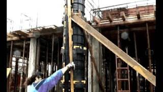 Опалубка колонн GEOTUBE(GEOTUB - пластиковая опалубка для кргуглых, квадратных и прямоугольных колонн. Опалубка пластиковая, оборачив..., 2011-08-03T07:16:51.000Z)
