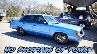 THIS WAS ONE INSANE RIDE IN THIS 800+HP TURBO 5.3 LTD ONLY ON 14 PSI!