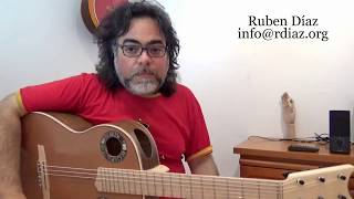The Present Creates Your Future / Becoming aware of habits in learning modern flamenco guitar