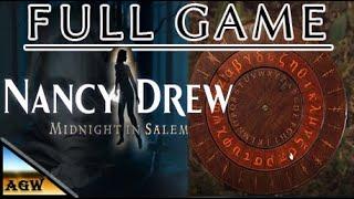 Nancy Drew Midnight in Salem Full Game Walkthrough Gameplay & Ending (No Commentary).