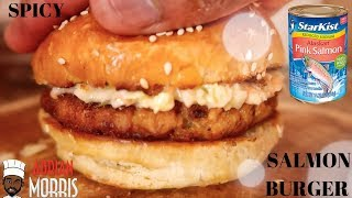 SPICY?SALMON?BURGER? | Lesson #169 | Morris Time Cooking