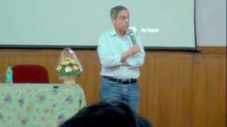 Mr Michael Fischman's Talk 2/4 (@ Indian Institute of Science, Bangalore- 18/03/2013)