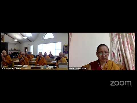 """12 """"Illumination of the Thought"""" with Geshe Yeshi Lhundup: Common and Uncommon Afflictions 10-30-20"""
