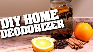 DIY Home Deodorizers! How to Make a Home Deodorizer & Keep Your Home Clean & Fresh (Clean My Space)