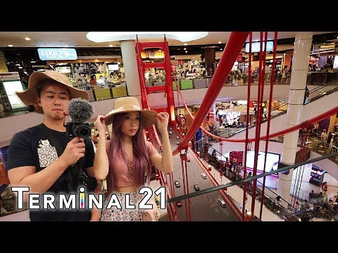 The greatest SHOPPING MALL in Thailand | Terminal 21