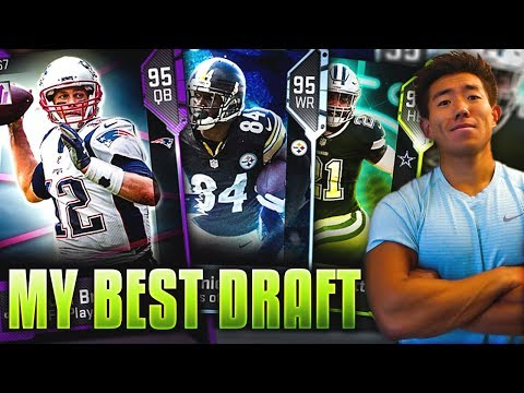 MY BEST DRAFT! CRAZIEST GAME! Madden 19 Draft Champions