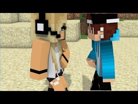 NEW Minecraft Song Psycho Girl 11  Psycho Girl VS Herobrine Minecraft Animation Music  Series