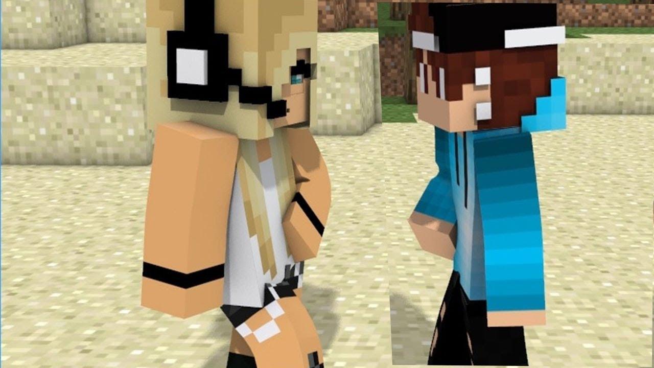 NEW Minecraft Song Psycho Girl 12 - Psycho Girl VS Herobrine- Minecraft  Animation Music Video Series