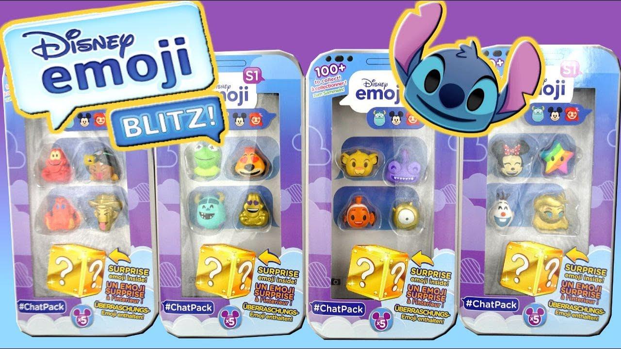 Disney Emoji Vinyl Figures 5 Packs Season 1 Youtube