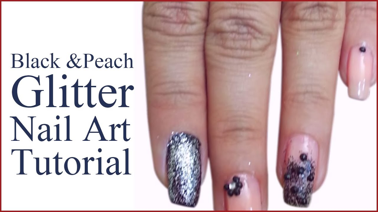 Eye Catching Peach Nail designs Tutorial To Set you Apart - YouTube