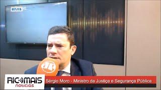 Entrevista com o Ministro da Justiça Sérgio Moro