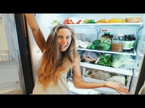 What's in my VEGAN FRIDGE!