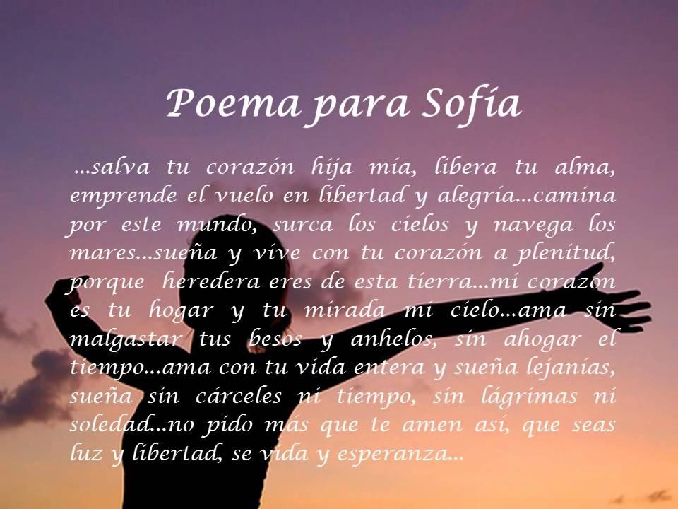 Poemas Para Cunhadas Amor E Poesias: LEO AMOR POEMA PARA SOFIA