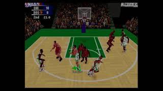 NBA Action 98 -SEGA Saturn-Gamneplay