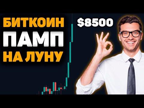 Биткоин ПАМП НА ЛУНУ! Старт Бычьего Рынка? Рост S&P 500! Прогноз, Обзор, Курс и Новости! BTC