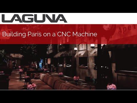 Building Paris on a CNC Machine