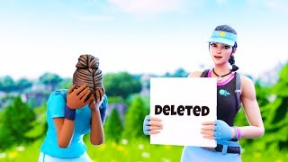 I Deleted my Friends on Fortnite because....