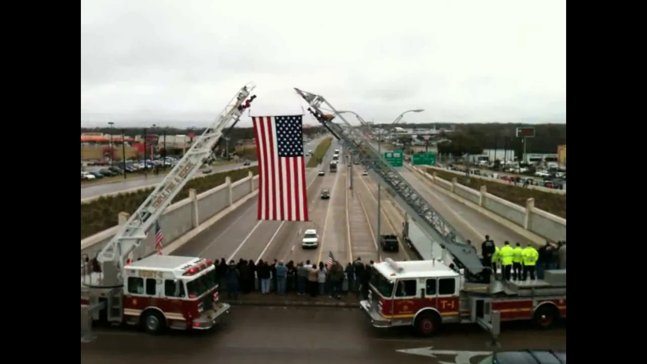 Chris Kyle Funeral Procession I 35 2 12 2013 Temple Texas