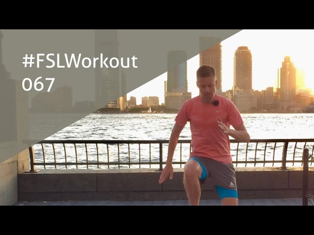 Planking & Leg Workout in NYC | FSLWorkout 067