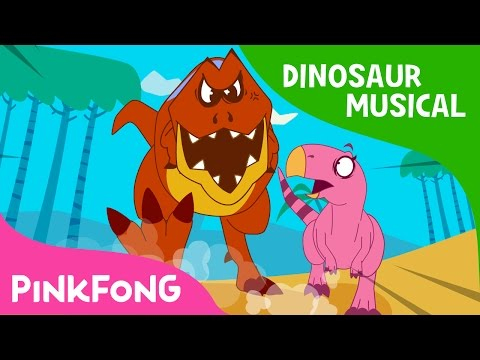 Thumbnail: The Diary of T-Rex, the Hunter | Dinosaur Musical | Pinkfong Stories for Children
