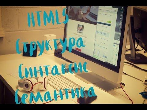 HTML5. Структура, Синтаксис, Семантика. 16. Работаем с  Figure и Figcaption
