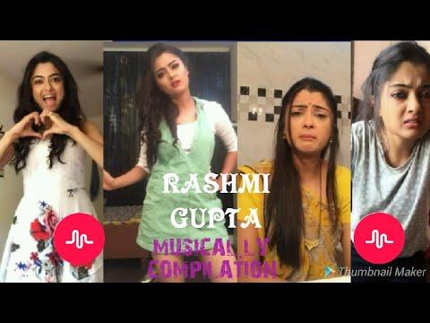RASHMI GUPTA MUSICAL.LY COMPILATION NEW VIDEO 2018 FOR LIVE VIRAL