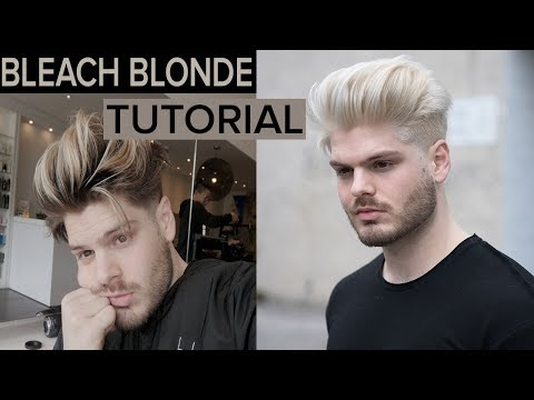 PLATINUM BLONDE - Men's Hair Tutorial 2017
