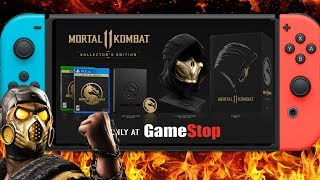 Mortal Kombat 11 Kollector's Edition VS Nintendo Switch (It's Very Expensive) But No Switch Version