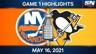NHL Game Highlights   Islanders vs. Penguins, Game 1 – May 16, 2021