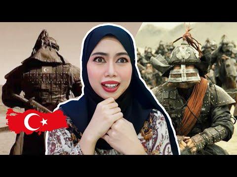 ARSLANBEK SULTANBEKOV - DOMBRA | Indonesian Reaction | Historical Turkish Song