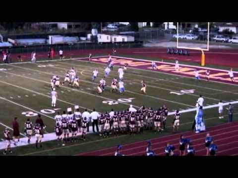 Nick Clausen - SVHS Football Highlights 2009