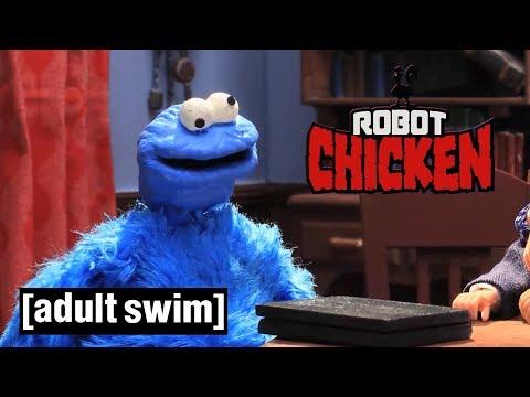 3 Sesame Street Moments | Robot Chicken | Adult Swim