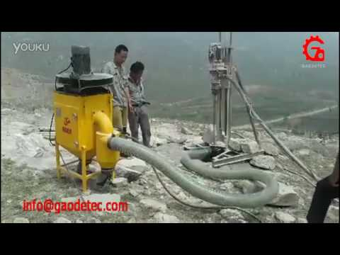 Portable Drilling Equipment Equipped With Dust Collector