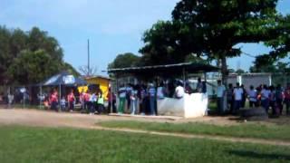 Inauguracion de juegos de docentes Municipio Alberto Adriani 2011.mov