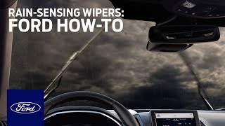homepage tile video photo for Rain-Sensing Wipers   Ford How-To   Ford