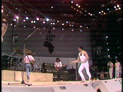 Queen Live Aid 1985 (Part 1) (High Quality)