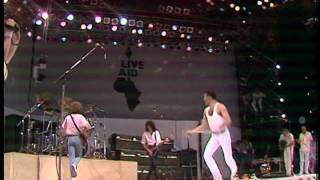 Queen Live Aid 1985 Part 1 High Quality