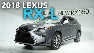 2018 Lexus RX 350L and RX 450hL First Look - 2017 LA Auto Show
