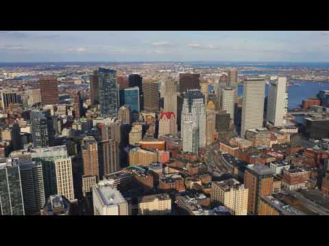 Downtown Boston from Above