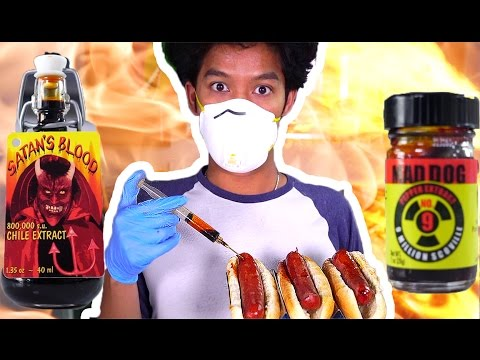 ULTIMATE SPICIEST HOT DOG!!!!!! PRANK!!