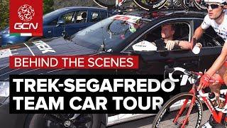 Trek-Segafredo Team Car Tour | Behind The Scenes At The Giro d'Italia 2018