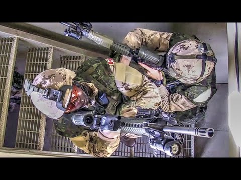 Canadian Army - Urban Terrain Exercise