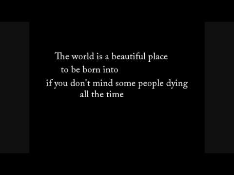 "Lawrence Ferlinghetti ""The World Is a Beautiful Place..."""