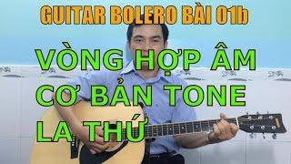 GUITAR BOLERO BÀI 01b: Vòng hợp âm cơ bản tone La thứ (Am)