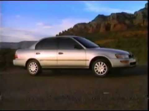 1994 Toyota Corolla Commercial