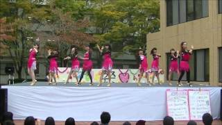 kmudc 2014 学祭 正規girls[fascination!!!]