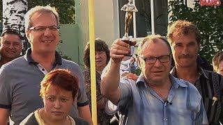 Бывший участковый Виктор Сиганов открыл в селе радиостанцию